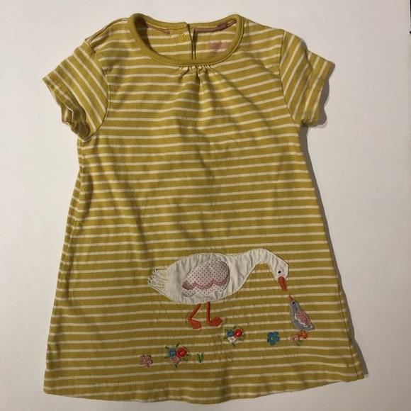 BABY BODEN COTTON JERSEY STRIPED DRESS /& PANTS  BNWOT